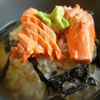 Salmon Ochazuke (tea rice)