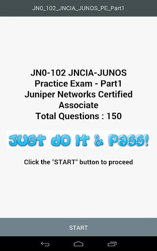 JN0-102 JNCIA Practice Exam