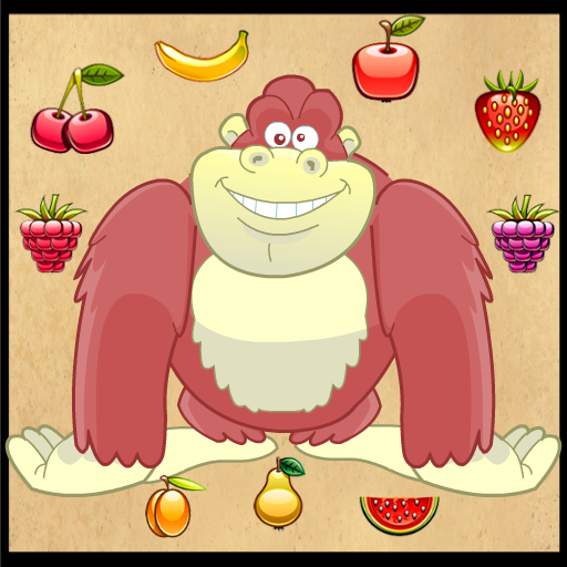 有趣的水果飼養大猩猩 LOGO-APP點子
