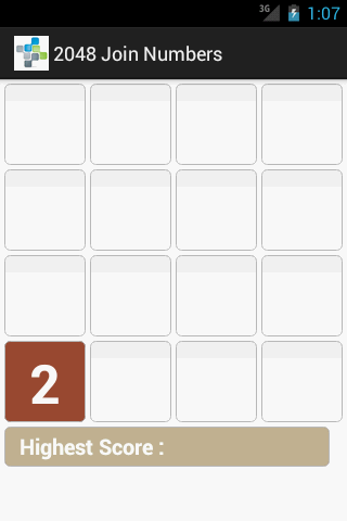 2048 Join Numbers