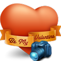 Romantic Camera for Valentine logo