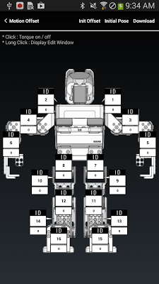 ROBOTIS MINI (ROBOTIS) - screenshot