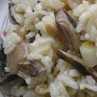 Slow Cooker Risotto with Mushrooms Recipe