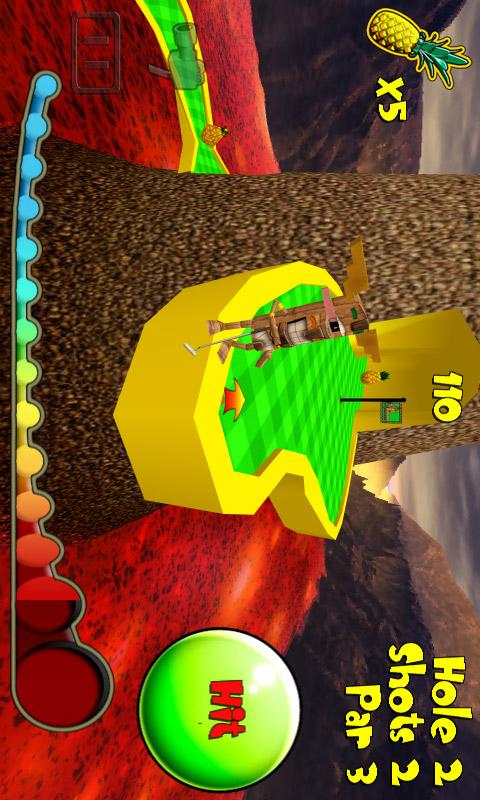 Tiki Golf 2- screenshot