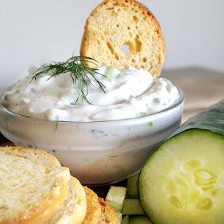 Cucumber Dill Dip.