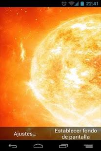 Fondo Animado Sol
