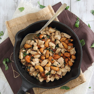 Thai Basil Cashew Chicken Skillet