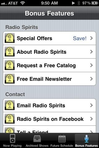 Radio Spirits - screenshot