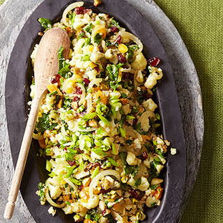"Cauliflower ""Couscous""."