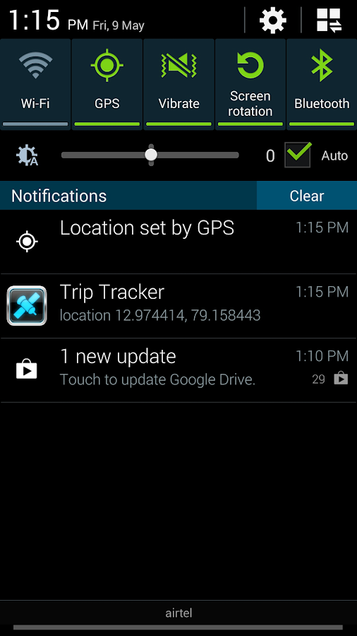 TripTracker - screenshot