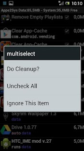 SystemCleanup - screenshot thumbnail