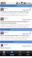 Screenshot of Talk Disney Community