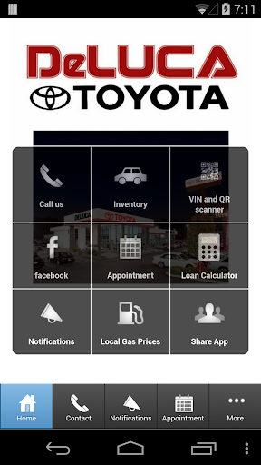 【免費商業App】DeLuca Toyota-APP點子