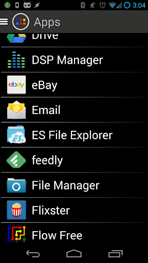 fANDler - App Organizer