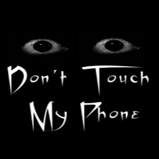 Открытки, смешные обои с надписью не трогай мой телефон