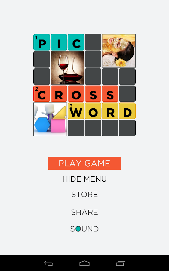 Pic Crossword puzzle game quiz - Android Apps on Google Play