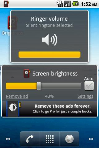 Brightness Rocker Lite- screenshot