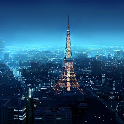 东京的摩天大楼 個人化 App LOGO-APP試玩