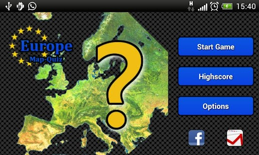 Map Quiz - Europe- screenshot thumbnail