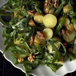 Arugula, Potato And Green Bean Salad.