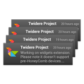 Twidere Home Screen Widgets