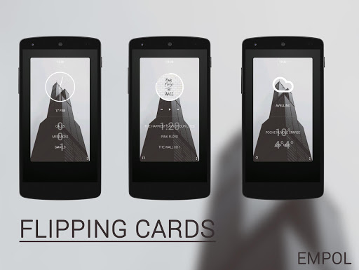 Flipping Cards Zooper skin