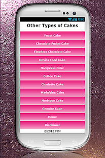 Cake Recipes - screenshot thumbnail