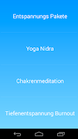 Screenshot of Yoga Nidra Tiefenentspannung