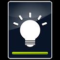 Xperia style LED widget icon