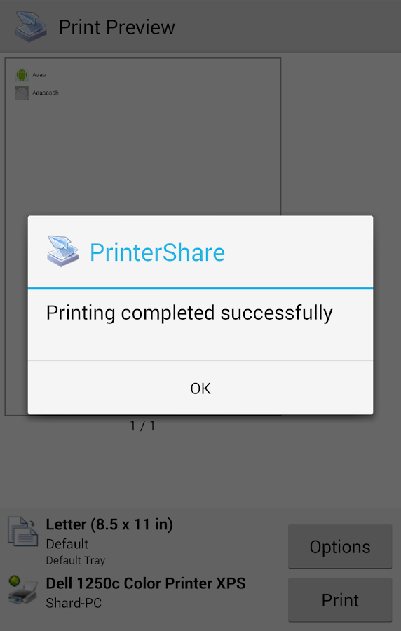 PrinterShare™ Mobile Print - screenshot