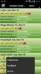 Missouri Lottery Droid Lite - screenshot thumbnail