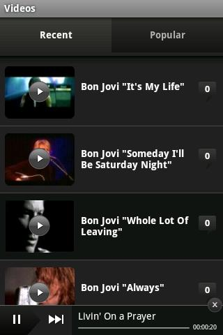 Bon Jovi- screenshot