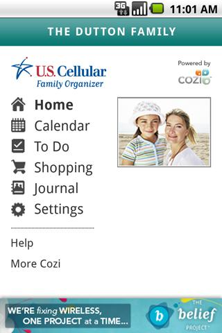 U.S. Cellular Family Organizer - screenshot