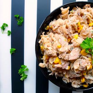 15-Minute Corn & Tuna Pasta