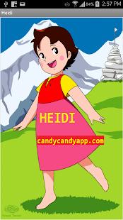 Heidi la niña de las montañas