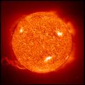 Astronomy : Sun logo
