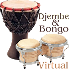Virtual Djembe & Bongo icon