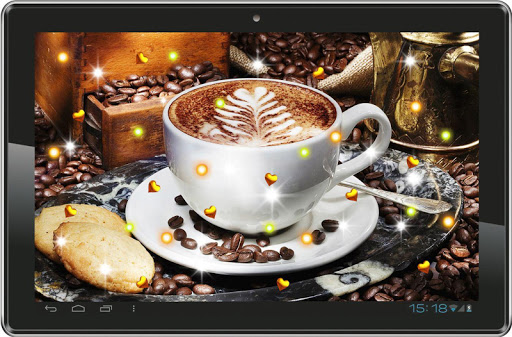 【免費個人化App】Coffee n Milk live wallpaper-APP點子