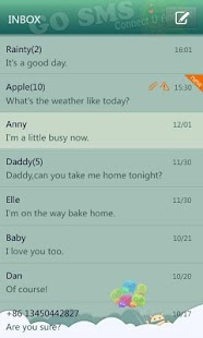 GO SMS Pro Paradise Theme - screenshot thumbnail