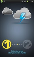 Screenshot of Lightning Distance