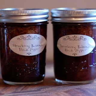 Strawberry Balsamic Black Pepper Jam