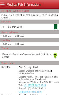 Medical Fair India 2014- screenshot thumbnail