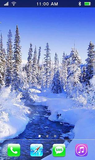Nature Winter live wallpaper