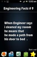 Screenshot of Engineering Facts