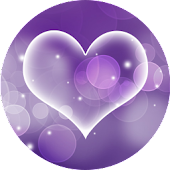 Purple Hearts – Live Wallpaper