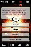Screenshot of Star Wars FunBlast Trivia LT