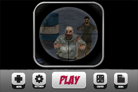 Zombie Sniper Killing Game - screenshot