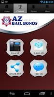 Screenshot of AZ Bail Bonds