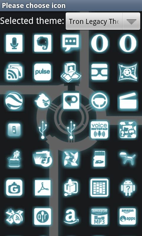Glow Go Launcher Ex Theme - screenshot