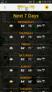 South Texas Weather Authority - screenshot thumbnail